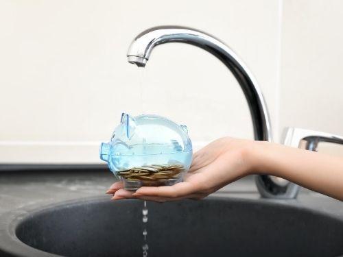 Reduzir a conta de água