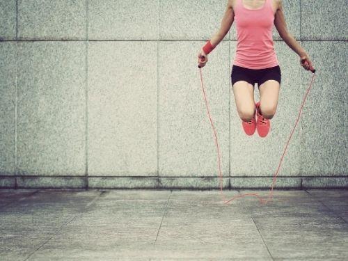 Pode dar uma dica de treino de pular corda?