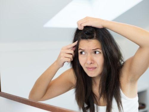 Dor nos cabelos