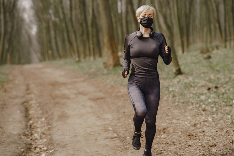 Máscara exercício físico